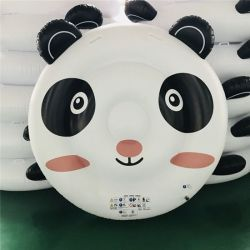 Latest design float 0.3mm Inflatable Lovely Panda float for water Cushion