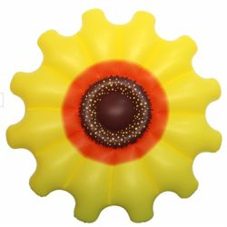 Sunshine float toy inflatable Yellow Sunflower float for your Holiday trip fun